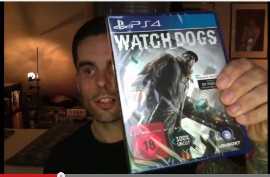 Vlogging Experiment: Unboxing Watch Dogs (PS4)